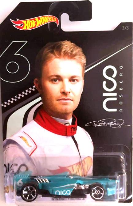 Hot Wheels series in honor of Nico Rosberg.