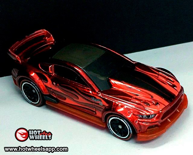'15 Ford Mustang - Hot Wheels ID 2019