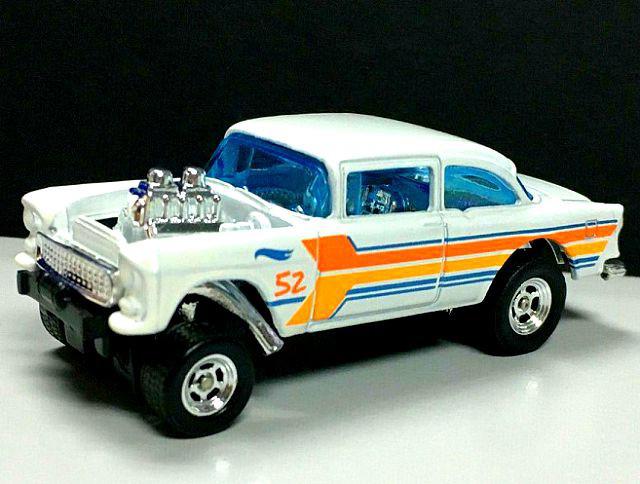 '55 Chevy Bel Air Gasser - Hot Wheels 52nd Anniversary