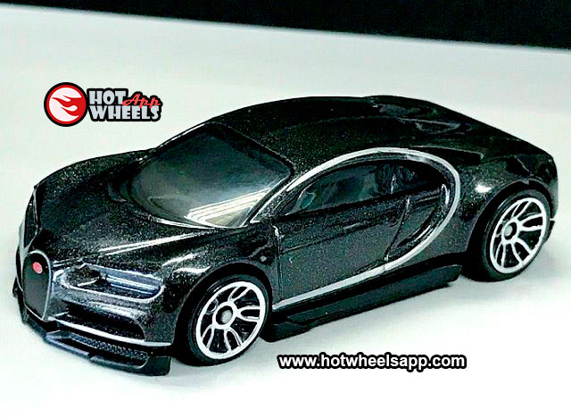 Hot Wheels 2020 fresco de fábrica #7//10/'16 Bugatti Chiron Preto