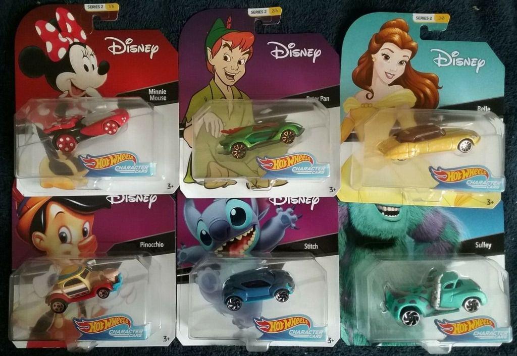 Disney Character Cars Series 2