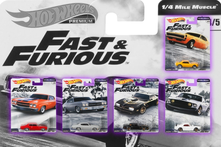 Fast & Furious 1/4 Mile Muscle
